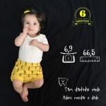 6 meses de Maria Teresa  Meio ano de vidahellip