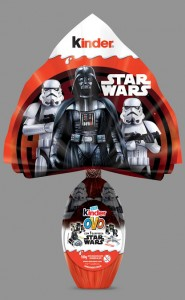 FERR0173 KINDER PASCOA 2017 LENCO STAR WARS DES R05